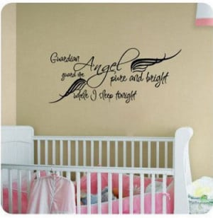 ... and Decals with Inspirational Guardian Angel Quotes and Sayings