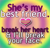 Myspace Graphics > Friends > shes my best friend Graphic