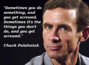Chuck Palahniuk Quotes