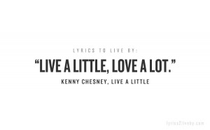 Kenny Chesney quote o.O