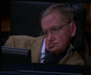 Watch: Stephen Hawking comes out as Internet troll on 'The Big Bang ...