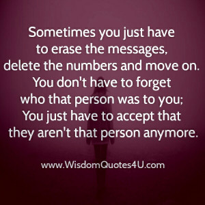 Sometimes you have to be with the wrong person to find out who the ...
