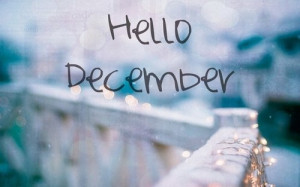 Hello December!!!