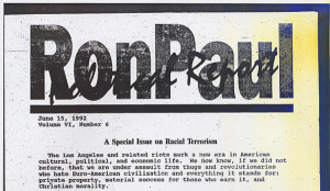 Washington Post Ron Paul Signed Off On Racist Newsletters