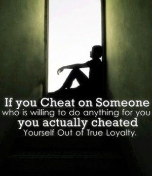 Don't cheat.