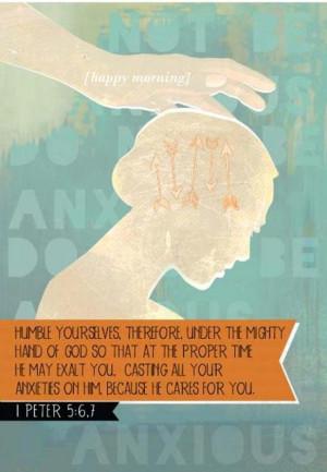 Humble Yourself...