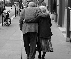 58. Seeing old people in love