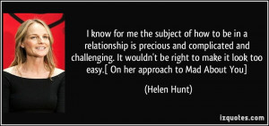 More Helen Hunt Quotes