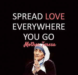Quotes and sayings by mother teresa (4)