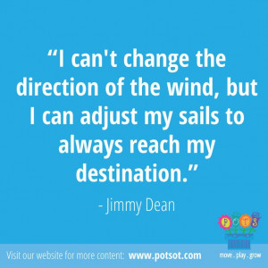GREAT Quote by Jimmy Dean: