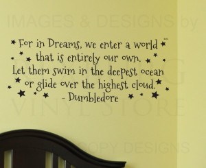 Wall-Decal-Art-Sticker-Quote-Vinyl-Lettering-Large-Dumbledore-Harry ...