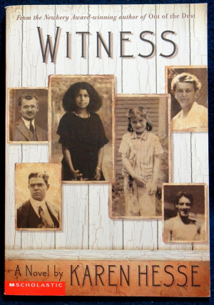 Verse Novel - Witness