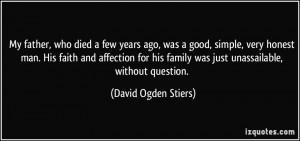 David Ogden Stiers Quote