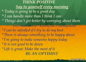 Power Of Positive Thinking Quotes 2015-2016