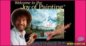 Funny Bob Ross Joy Painting Show...