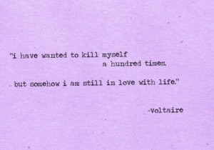 Voltaire, quotes, sayings, about yourself, life, live