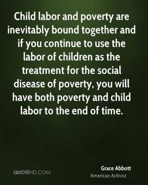 Child Labor Quotes Grace Abbott