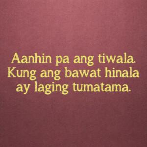 Tagalog Quotes Love Hurts