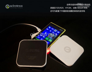 2013 Best price W1 QI Wireless Charger QI Standard QI Charging Pad for