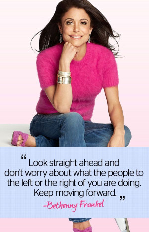 Bethenny F. Frankel in our October issue