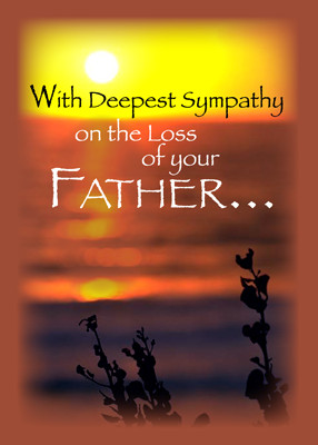 sympathy quotes loss of dad quotesgram