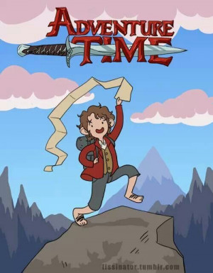 Adventure time with bilbo baggins!