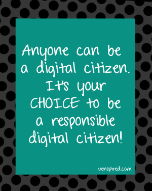 Digital Citizenship: It's More Than a Poster!