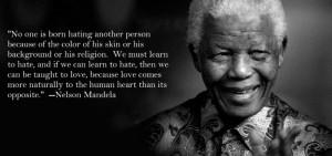 Nelson Mandela after receiving his Nobel Peace Prize on December 10 ...