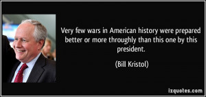 Very few wars in American history were prepared better or more ...