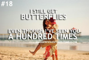 butterflies seen you hunded time love couples quotes swag