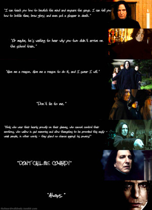 Tobias Snape (favorite quotes)Inspired by dailypotter's favorite quote ...