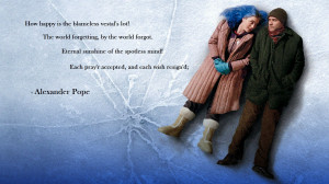 Eternal Sunshine Of The Spotless Mind Poem Eternal sunshine of the
