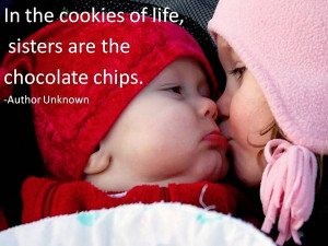 Cute Brother And Sister Quotes A cute quote with cuter