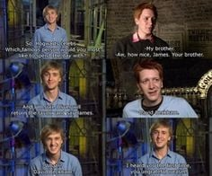 fred and george weasley funny quotes | Fred and George Weasley - Fred ...