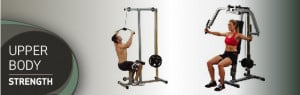 Upper Body Exercise Equipment: Get A Lat Machine, Tricep Machine ...