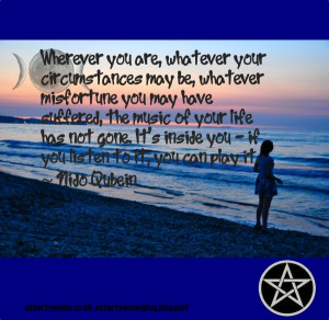 ... of your life is inside you. Nido Qubein positive inspirational quote