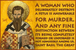 Saint Basil the Great (lived 329-379 A.D.) Centuries later, this quote ...