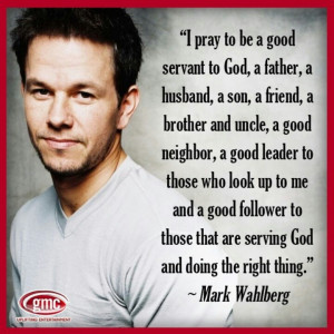 Mark Wahlberg: There should be more like him speaking their mind where ...