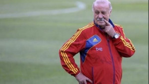 Vicente Del Bosque has had his mustache since the begining of time.