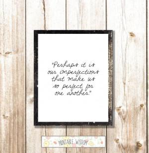 Printable Quotes, Jane Austen Quote print, wall art decor poster ...