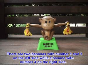 Funny maths scale intellect educationa desktop toy for kindergarten ...