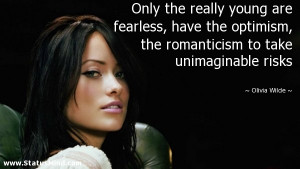 Olivia Wilde Quotes Quotations Sayings Remarks And Thoughts Picture
