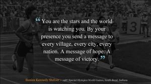 Eunice Kennedy Shriver Day