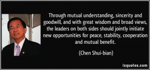 More Chen Shui-bian Quotes