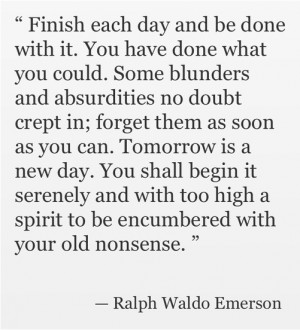 Wisdom from Ralph Waldo Emerson : Inspiring Quotes