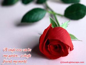 ... rose graphics, friendship roses, red rose image scraps for Orkut
