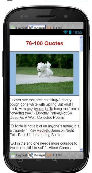 Best Suicide Quotes