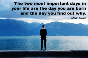 Motivational quote by American author Mark Twain via http ...