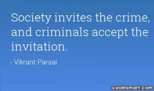 Quotes and Sayings about Crime
