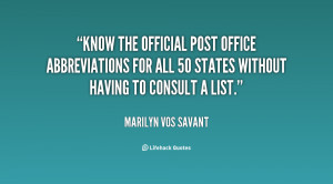Know the official post office abbreviations for all 50 states without ...